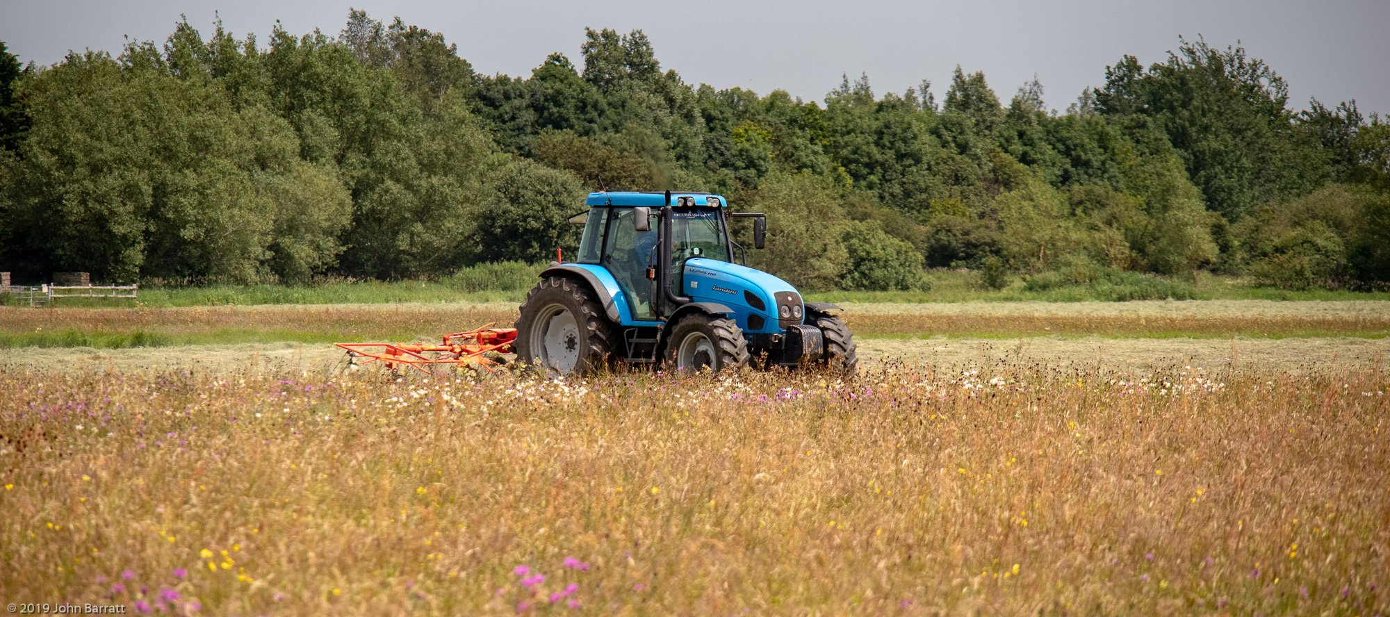 Hay Cut Started on Thursday 27th June