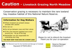 Grazing notice